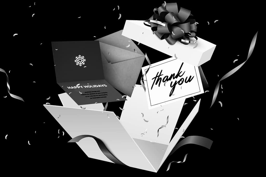 Greeting cards, holiday cards and thank you cards